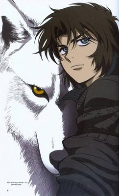 """Die story """"wolf's rain spielt ein einer post apokalyptischen"""