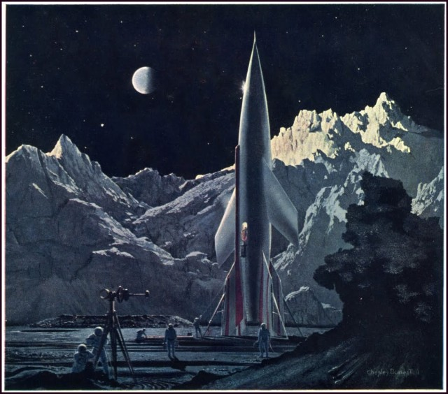 Chesley bonestell the conquest of space